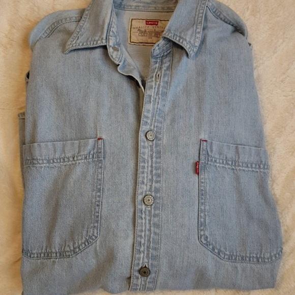 216ef5cf5f6 Levi s Other - Vintage Levi denim shirt